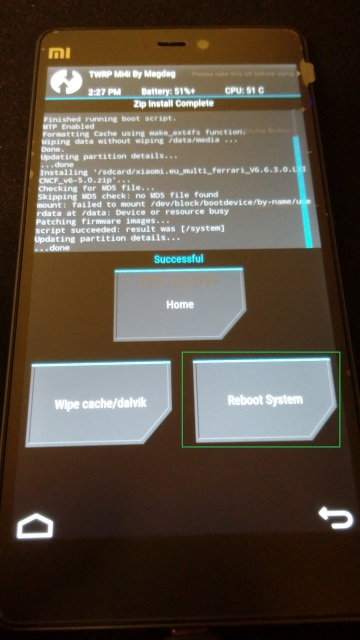 GUIDE] Upgrade the Xiaomi Mi4i to the Multilanguage step by step