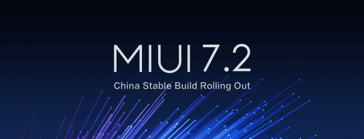 Xiaomi Miui 7.2 stable china