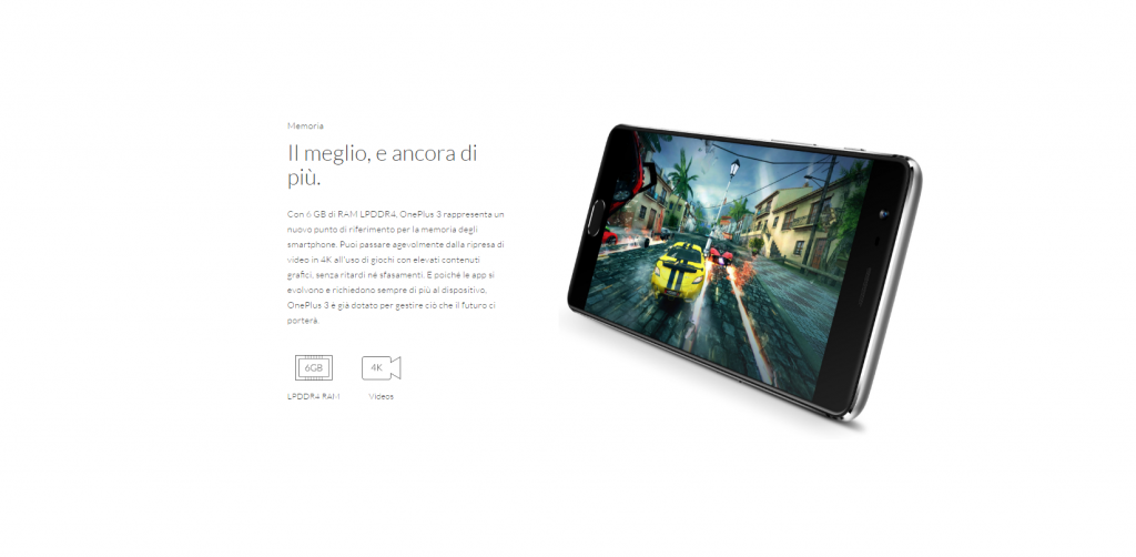 oneplus 3 specifiche prezzo