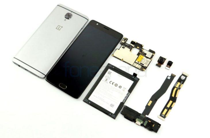oneplus 3 teardown