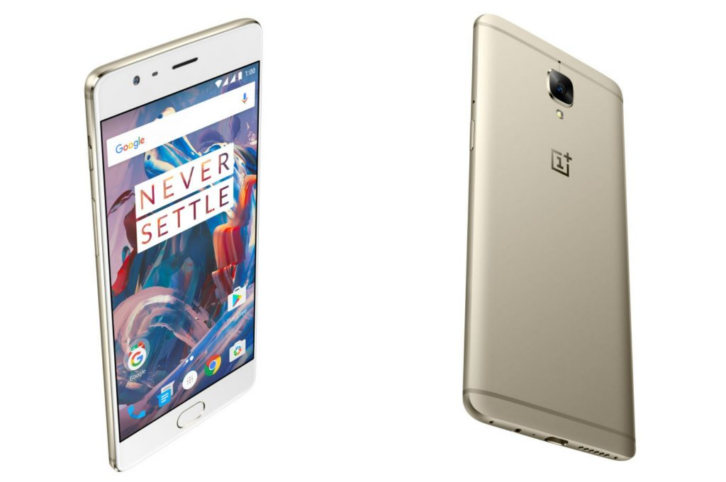 oneplus 3 soft gold smartylife disponibile