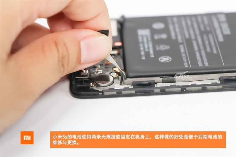 Xiaomi mi5s teardown