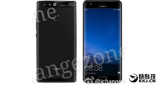 Huawei P10 appare in render con e senza display edge!