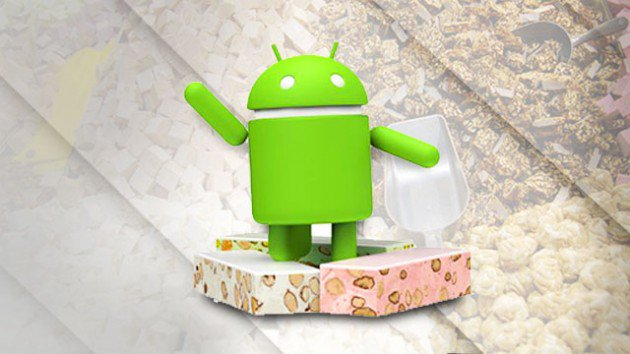 android N nougat rollout Nexus