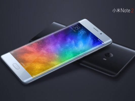Xiaomi Mi Note 2 con display flat? Non ci sarà!