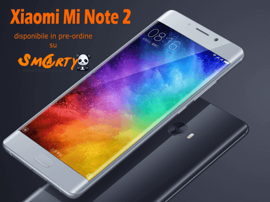 mi note 2 disponibile smartylife