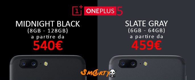 oneplus 5 disponibile smartylife