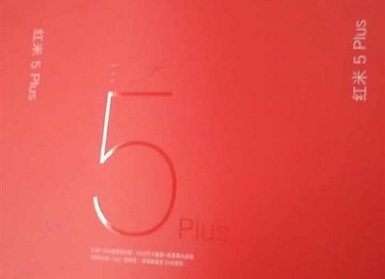 Xiaomi Redmi 5 Plus: trapelano box di vendita e specifiche tecniche