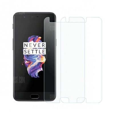 smartylife-2pcs 2.5D 9H Hardness Tempered Glass Screen Protector for OnePlus 5