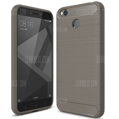 smartylife-ASLING Brushed Finish Soft Phone Case for Xiaomi Redmi 4X