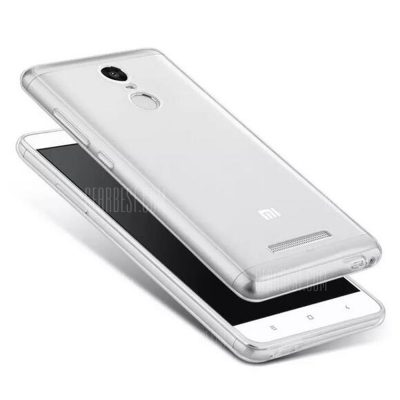 smartylife-ASLING Protective Transparent Case for Redmi Note 3 / 3 Pro TPU Material