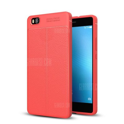 smartylife-Case for Huawei P8 Lite Shockproof Back Cover Solid Color Soft TPU