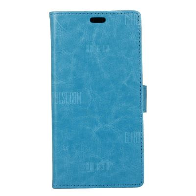 smartylife-KaZiNe Crazy Horse Texture Surface Leather Wallet Case for ZTE AXON 7