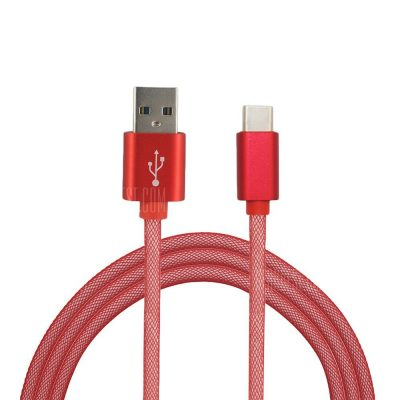 smartylife-Mini Smile 3.4A Quick Charge Usb 3.1 Type-C To Usb 2.0 Charging Data Transfer Cable 100CM