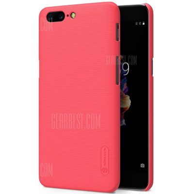smartylife-Nillkin Frosted PC Hard Phone Case Screen Film for OnePlus 5