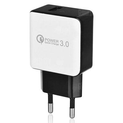 smartylife-QC 3.0 5V/3A Quick Charge EU Plug USB AC Charger / USB Wall Charger
