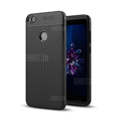 smartylife-Shockproof Back Cover Solid Color Soft TPU Case for Huawei P8 Lite (2017)