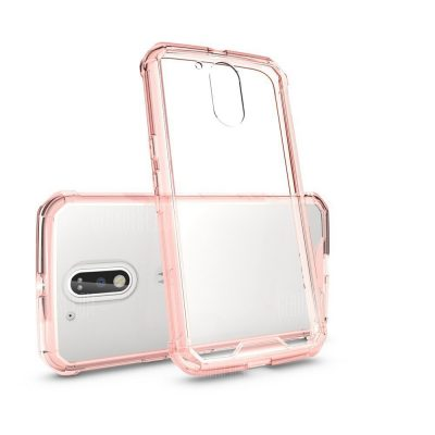 smartylife-Transparent Surface Shockproof Back PC Case for Motorola Moto G4 Plus