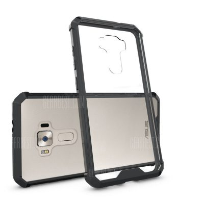 smartylife-Transparent Surface Shockproof Back PC Case for ASUS Zenfone 3 5.5 inch (ZE552KL)