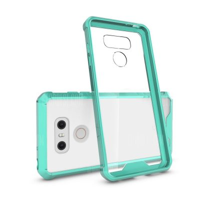 smartylife-Transparent Surface Shockproof Back PC Case for LG G6