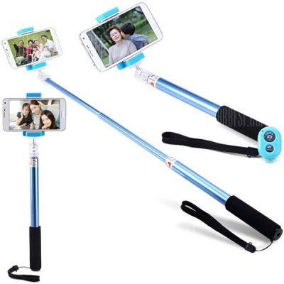 smartylife-AB Shutter 3 Bluetooth RC Self Timer Stretchable Monopod Camera Shutter with Clip
