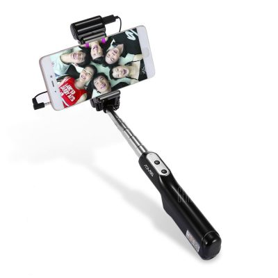 smartylife-ADYSS A6 Wire Control Selfie Stick Shutter Monopod LED Flash