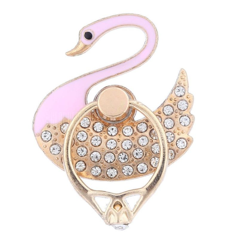 smartylife-Adjustable Ring Style Phone Stand for Mobile Phone Swan Style