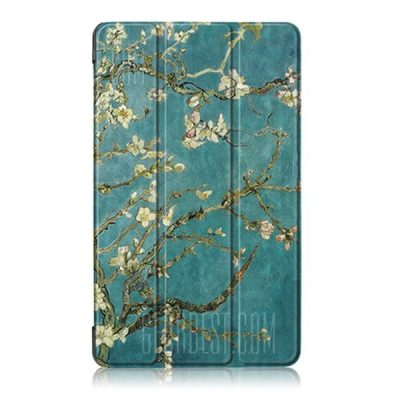 smartylife-Apricot Flower Tri-foldable Case for Huawei MediaPad T3 7.0