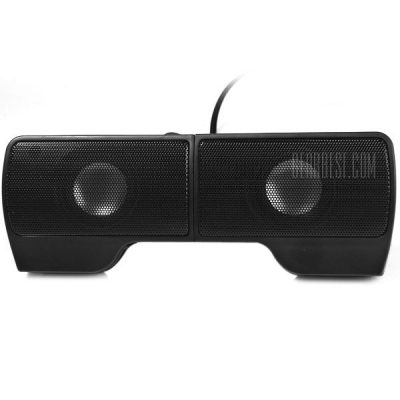 smartylife-Clip USB Powered Music Digital Speaker Sound Stereo with Volume Control for PC Laptop