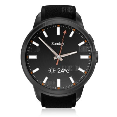 smartylife-Diggro DI01 Smart Watch Android 5.1 IP67 MTK6580 1GB/16GB Nano SIM 3G WIFI 2.0MP Camera Call Heart Rate Monitor Pedometer Weather Health Reminder for Android IOS