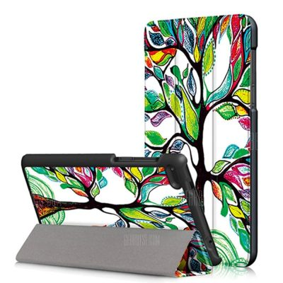 smartylife-Happy Tree Tablet Case for Lenovo Tab 7 Essential TB - 7304F
