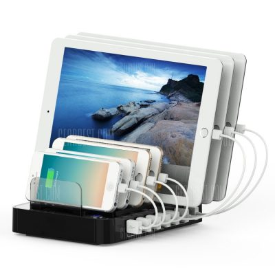 smartylife-Multifunctional 64.98W 7 USB Output Charging Holder Station