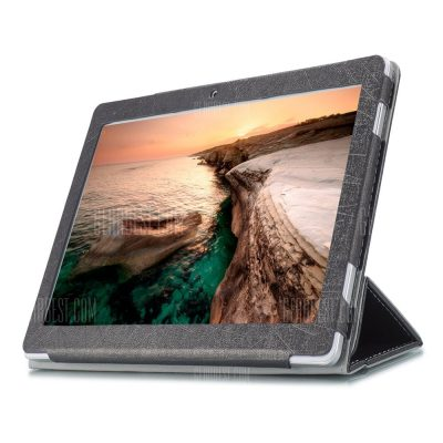 smartylife-PU Tablet Case Tri-foldable Stand Function for Cube iPlay 10
