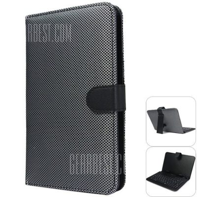 smartylife-Protective Case Cover with Wired Keyboard for 7 inch Tablet PC