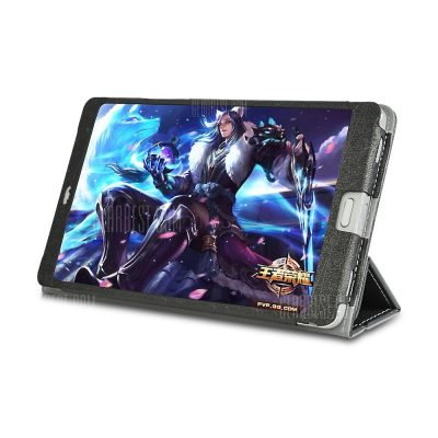 smartylife-Pu Protective Leather Case Cover with Stand Function Folding Special Design for Teclast T8 8.0 Inch Tablet Pc