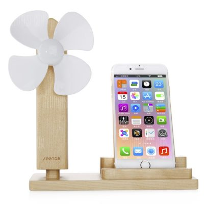 smartylife-SEENDA USB Fan Mobile Charging Stand