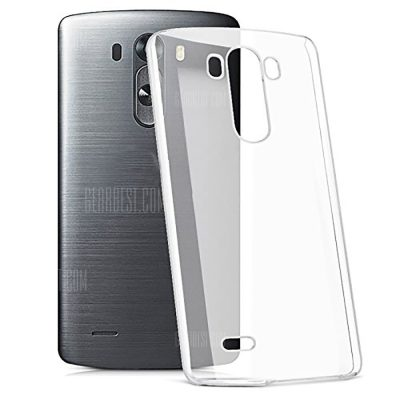 smartylife-Ultrathin Shock-absorption Bumper TPU Clear Case for LG G3