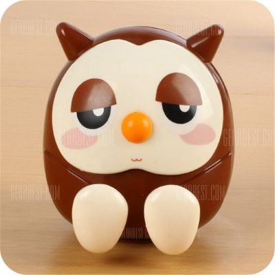 smartylife-Universal ABS Mobile Phone Holder Cute Owl Cartoon  Stand Tablet Smartphone Support Mini Saving Money Box