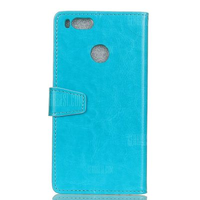 smartylife-Wkae Crystal Texture PU Leather Flip Stand Case with Wallet Card Slots for Xiaomi 5X