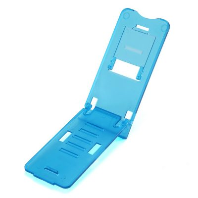 smartylife-Adjustable Plastic Holder Stand for Phone and Tablet PC - Blue