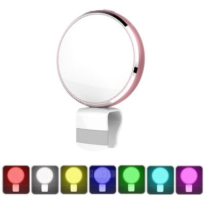 smartylife-BR34 Seven Colors Selfie Flash Light with Mirror