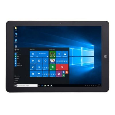 smartylife-CHUWI Hi12 Tablet 12 inch Dual OS Windows 10 + Android 5.1 4GB/64GB Intel Atom X5 Z8350 Quad Core 1.92GHz IPS 2160*1440 11000mAh Battery - Gray