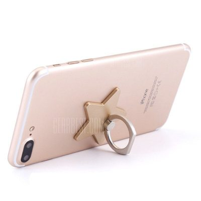 smartylife-Creative Star Shaped Mobile Phone Ring Bracket Holder for Cell Phones