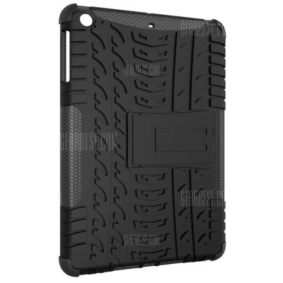 smartylife-Double-protection Back Case with Bracket for iPad mini 1 / 2 / 3