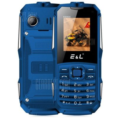 smartylife-EL K6900 Quad Band 1.77 inch IP68 Waterproof Unlock Phone