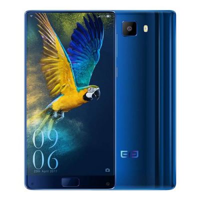 smartylife-Elephone S8 6.0 Inch Smartphone 2K Full Screen Helio X25 Deca Core 4GB 64GB 21.0MP Cam Android 7.1 Touch ID 4000mAh  Quick Charge 3D Curved Glass Body - Blue