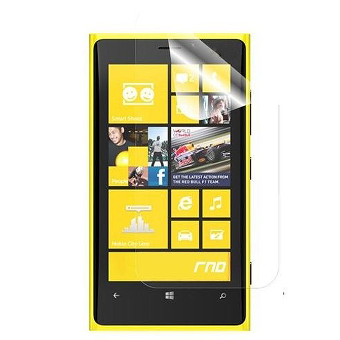 smartylife-HD Clear LCD Screen Protector Cover Guard Film for Nokia Lumia 920