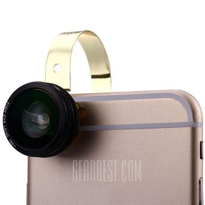 smartylife-HE - 110 Fashionable 3 in 1 Clamp Camera Lens Fisheye Macro and Wide Angle