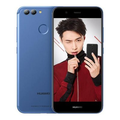 smartylife-HUAWEI Nova 2 5.0 Inch Smartphone FHD Screen 4GB 64GB Kirin 659 Octa Core 20.0MP Front Camera Android 7.0 Touch ID Dual Rear Camera 2950mAh Battery Quick Charge - Blue