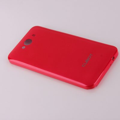 smartylife-High Quality Battery Back Cover for Cubot GT72 4.0 Inch MTK6572 Dual Core Smart Phone - Red